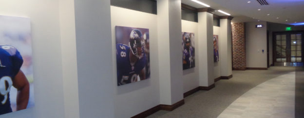 Raven's Under Armour Training Facility